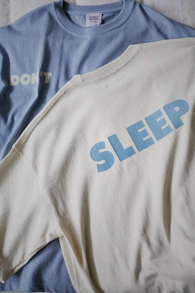 【DON'T SLEEP(ドントスリープ)】 ビックシルエットヘビーウェイトTシャツ