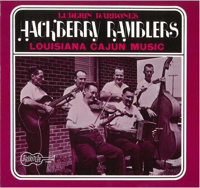 HACKBERRY RAMBLERS / LOUISIANA CAJUN MUSIC (LP) USA盤