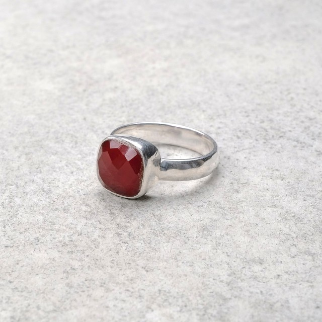 SINGLE STONE NON-ADJUSTABLE RING 087