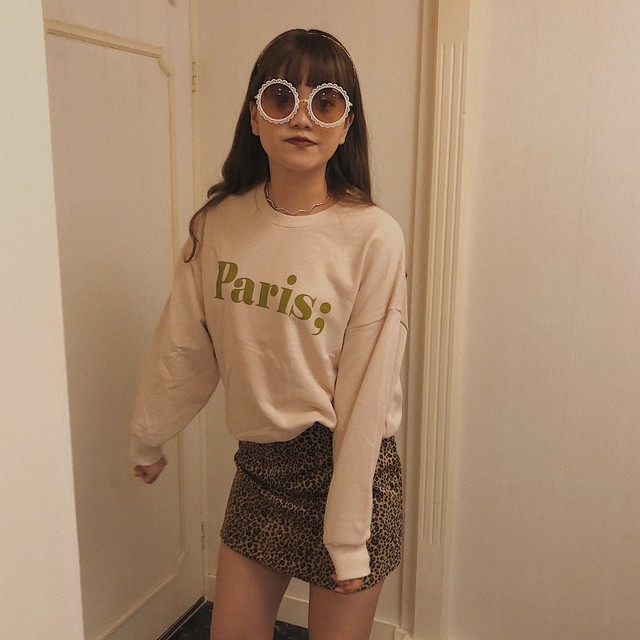 ♡paris sweatshirt