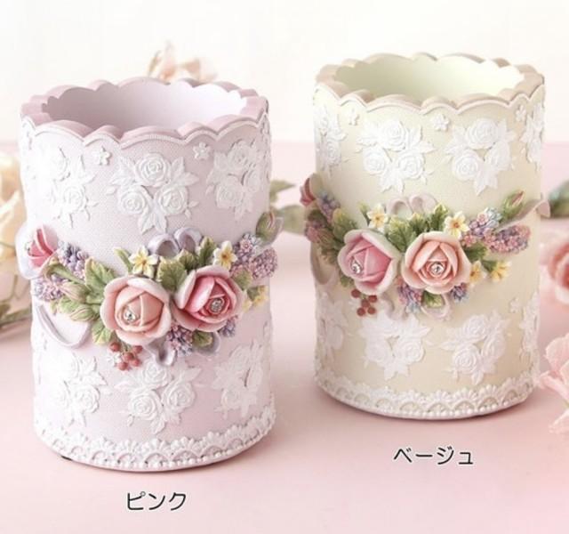 【2/22(月)21時より再販】 Rose pen stand♡