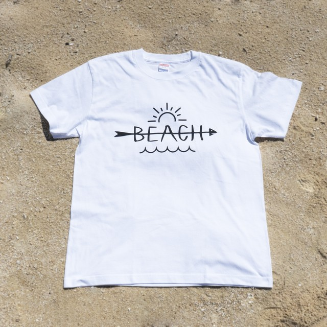 back print beachT Long T shirt 001