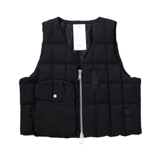 TATRAS X RIOT HILL Down Vest Black