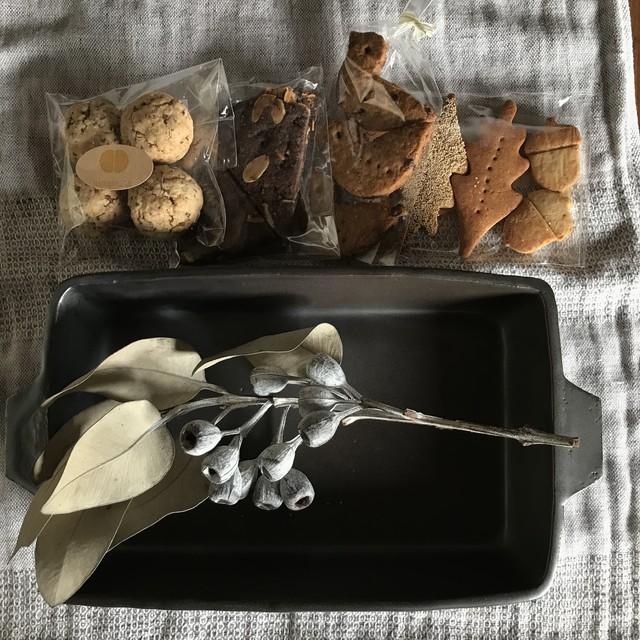 耳付き耐熱カップ(白)+お菓子3種