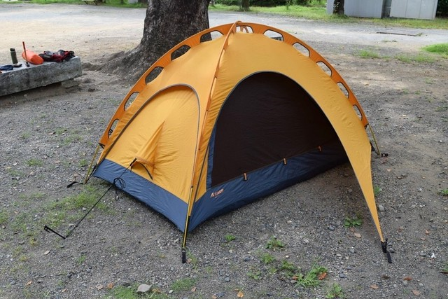 USED 90s EMS Eclipse Single Wall Backpacking Tent -2person T0617