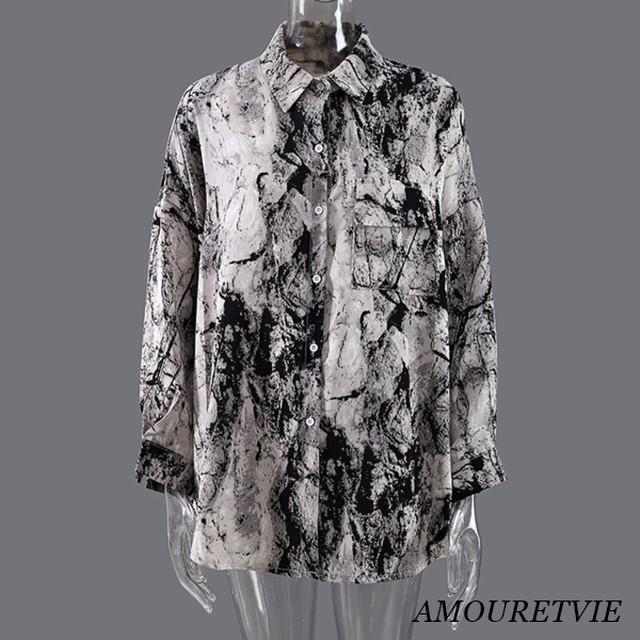 【モード系】モダンデザインシャツ 2023