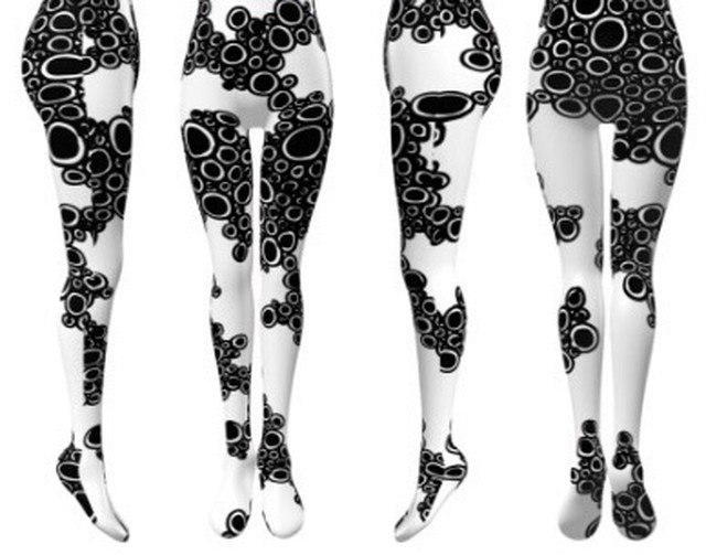 Avant-garde stockings. Avantgarde Legwear 02 / Michie Hoshina / M&K Design