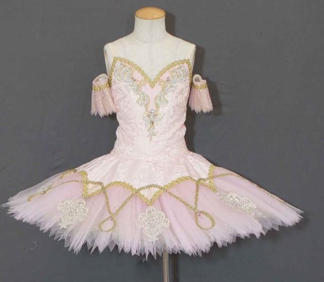 【受注販売】バレエ衣装 SC232_金平糖J145