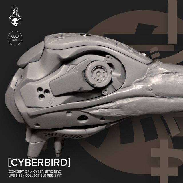 ANVA CRAFT CYBERBIRD - 1/1 resin model kit