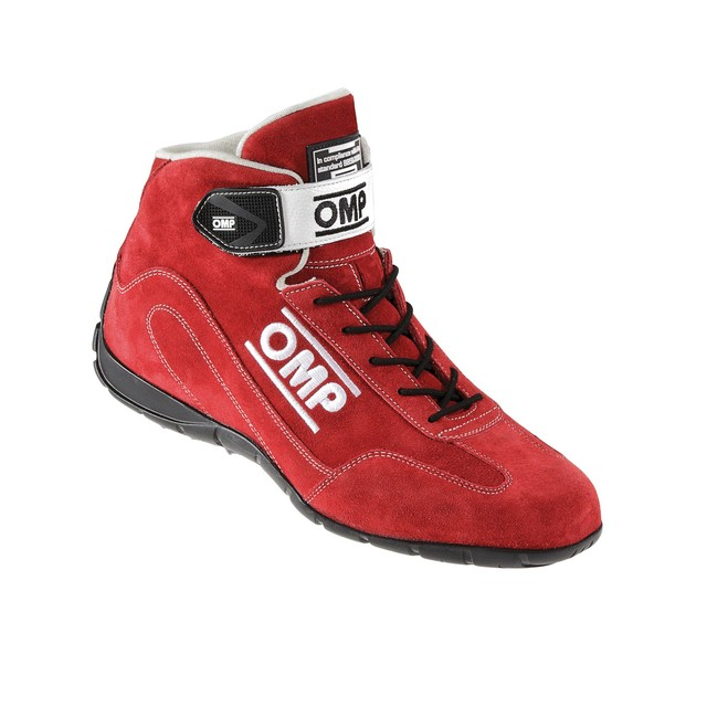 IC/791E061 CO-DRIVER SHOES RED