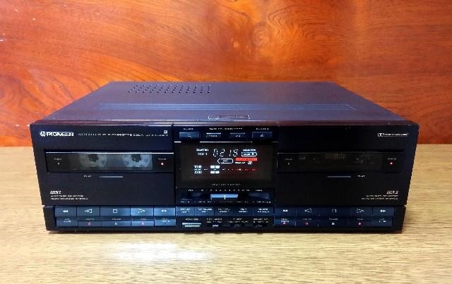 ダブル録音テープデッキ Pionner CT-X730WR 録音良好・完動品