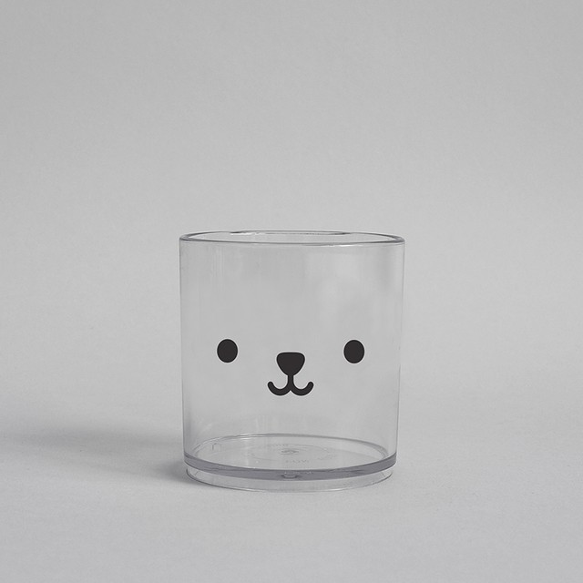 BUDDY+BEAR Bear Tumbler 250ml [clear]