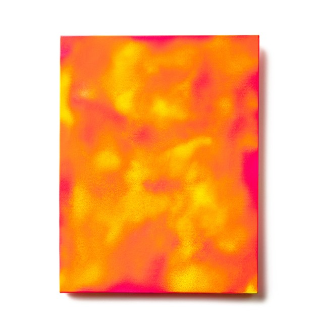Abstract Painting: FLAMING MIND