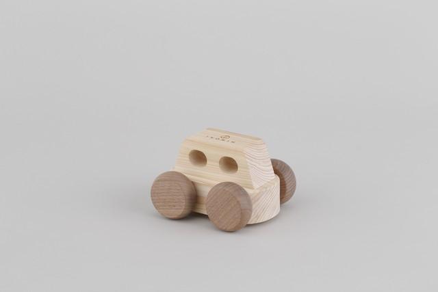 オルゴールカー MUSIC CAR ♫いつも何度でも | 木のおもちゃ 出産祝い 車のおもちゃ