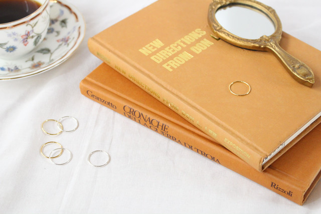 【gold】fine ring
