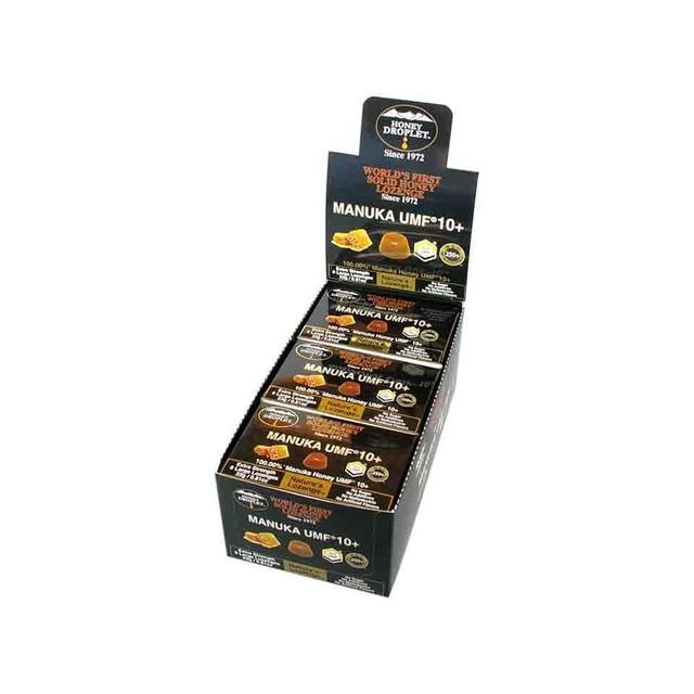 【12箱入り 送料無料】ハニードロップレット マヌカハニーUMF®10+(のど飴) 1箱6粒入 x 12箱セット
