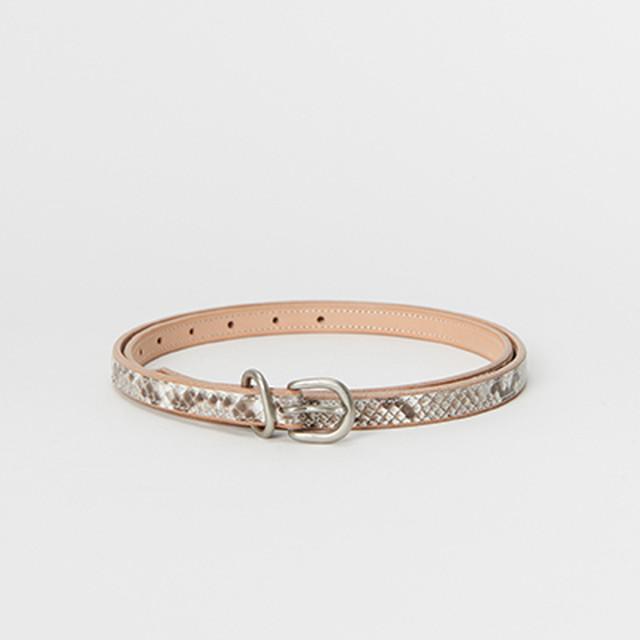 Hender Scheme 【エンダースキーマ】 python tail belt (NATURAL)