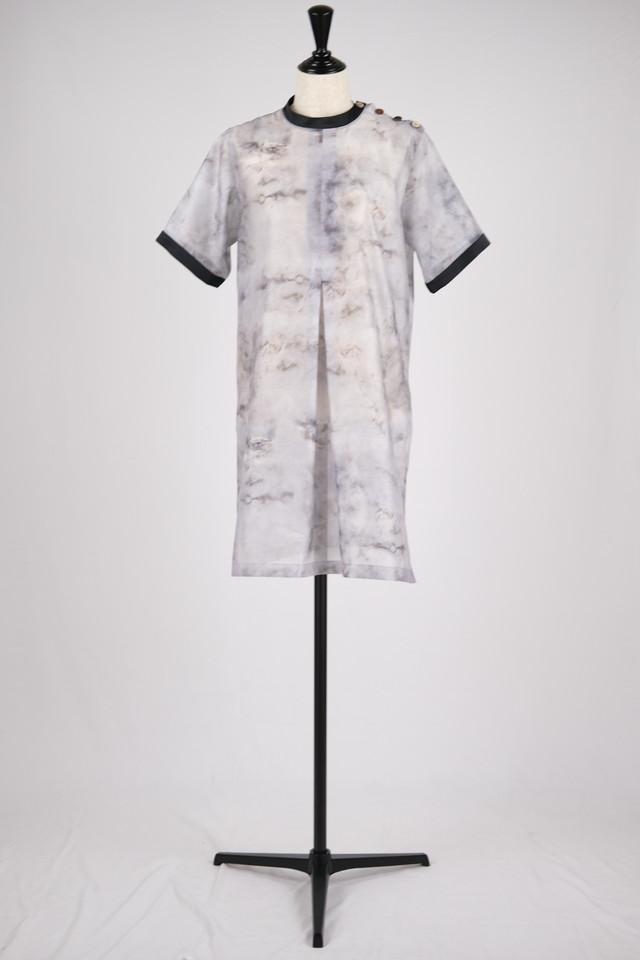【MURRAL】limestone long top - gray