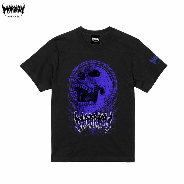 Bangsart × Marrion Apparel Tee (Black×Purple)