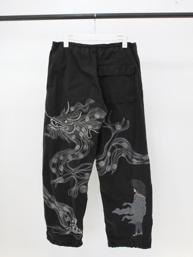 Used maharishi embroidery military pants