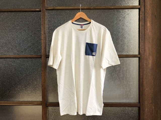 THE NORTH FACE CAMPEN TEE (VINTAGE WHITE)