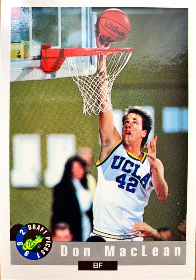 UCLAカード 92-93CLASSIC Don Maclean #44