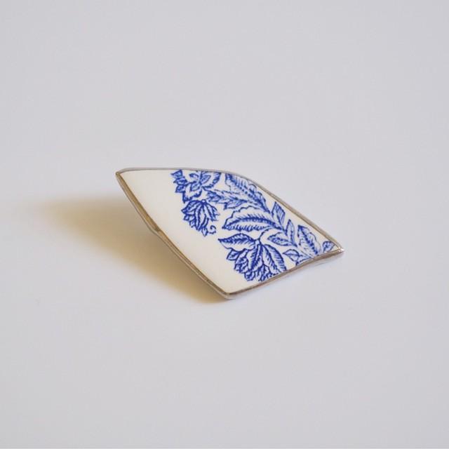 Broken Plate Brooch