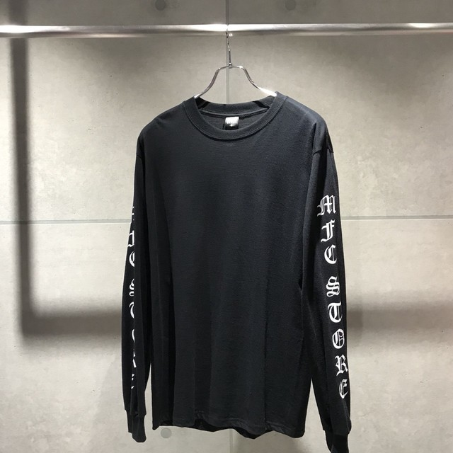 MFC STORE OLD ENGLISH LOGO L/S TEE / BLACK