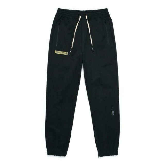 MIL ZIPPER JOGGER PANTS / BLACK