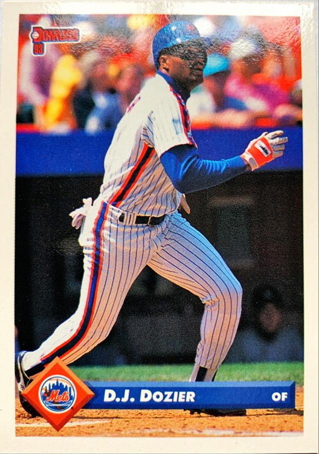 MLBカード 93DONRUSS D.J.Dozier #090 METS