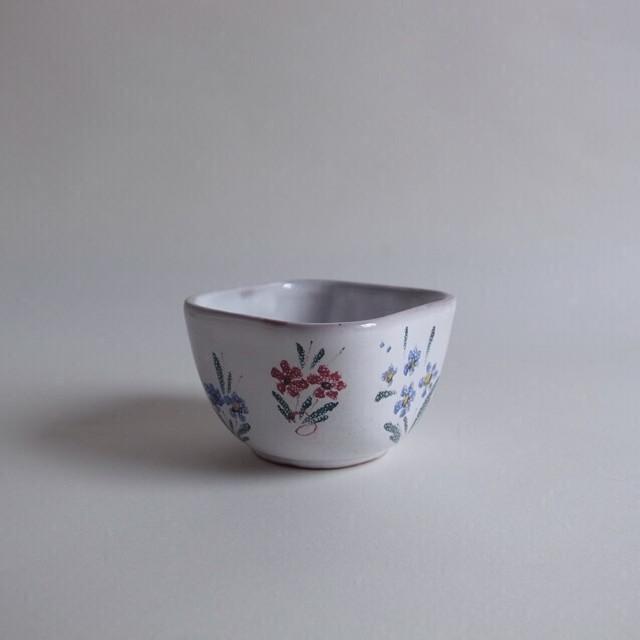 ARABIA flower square bowl