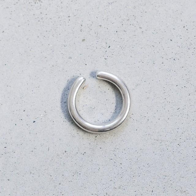 ring earcuff (silver)