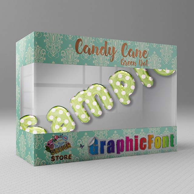 【Candy Cane(Green Dot)】