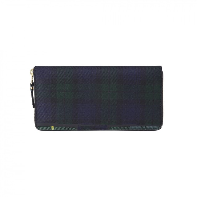 WALLET COMME des GARCONS【ウォレットコムデギャルソン】Very Black Round Wallet
