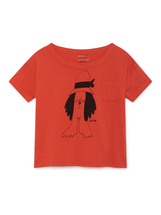 ボボショセス(BOBO CHOSES) - paul's short sleeve t-shirt[2-3Y/4-5Y/6-7Y]