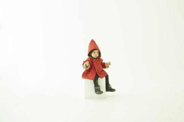 (予約8月入荷)【21AW】eLfinFolk(エルフィンフォルク) elf coat(110/120) コート アウター トンガリ