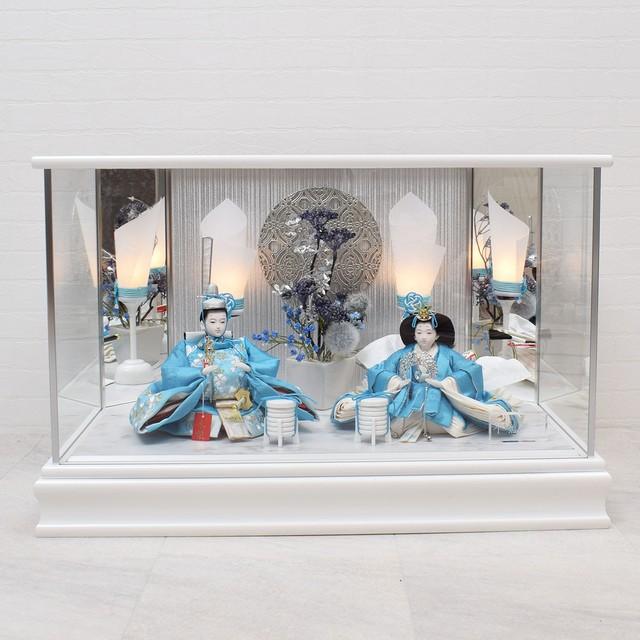 雛人形 親王飾り<sapphire>サファイア ケース入り