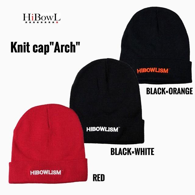 "HiBOWL『ハイボール』 HiBowL Knit Cap ""Arch"""