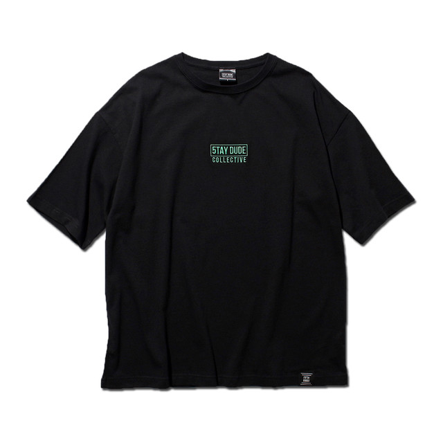 【STAY DUDE COLLECTIVE】5th Anniversary Logo SS Tee (BLACK)