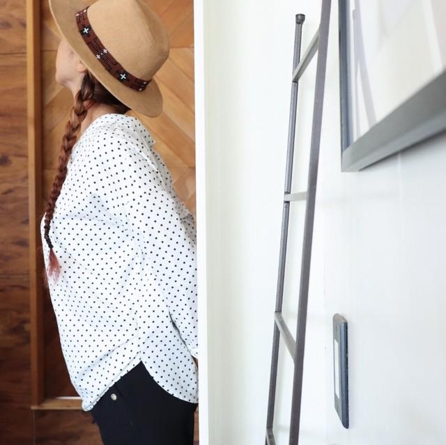 Hat band【ビーズ太】