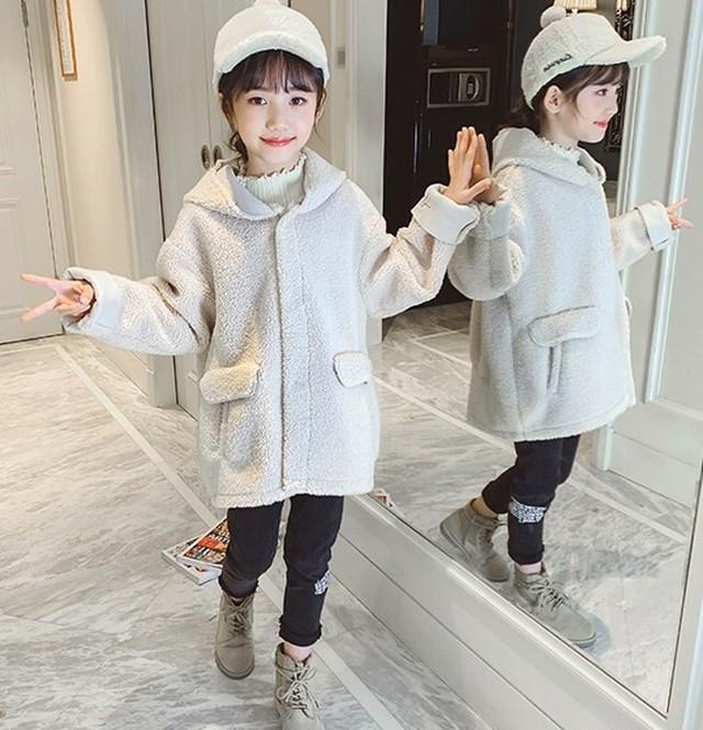 (KIDS)ラムソウルフードコート 子供服 キッズアウター キッズウェア 韓国ファッション