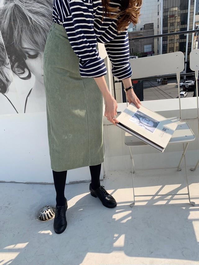 チェックチューリップスカート チェックスカート ロングスカート  韓国ファッション