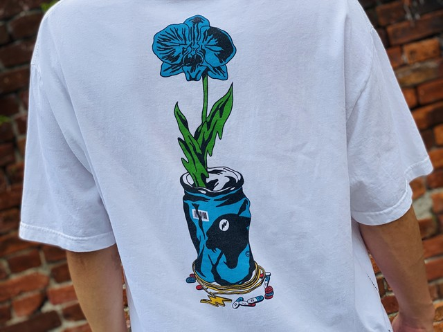 WASTED YOUTH  × RARE PANTHER TEE WHITE 4 50JF6863