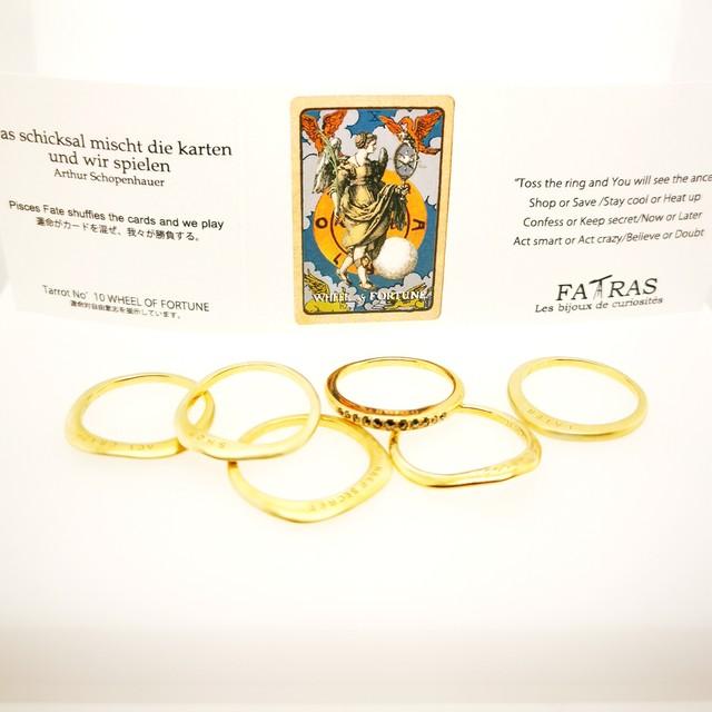 stack ring  Fortune Teller