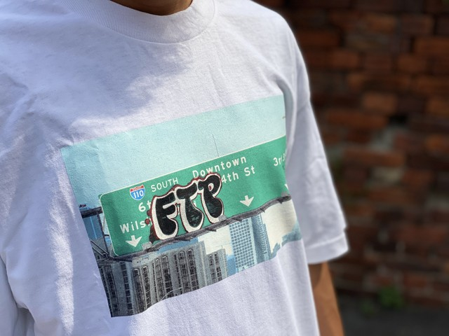 FTP FREEWAY TEE WHITE LARGE 25JE6323