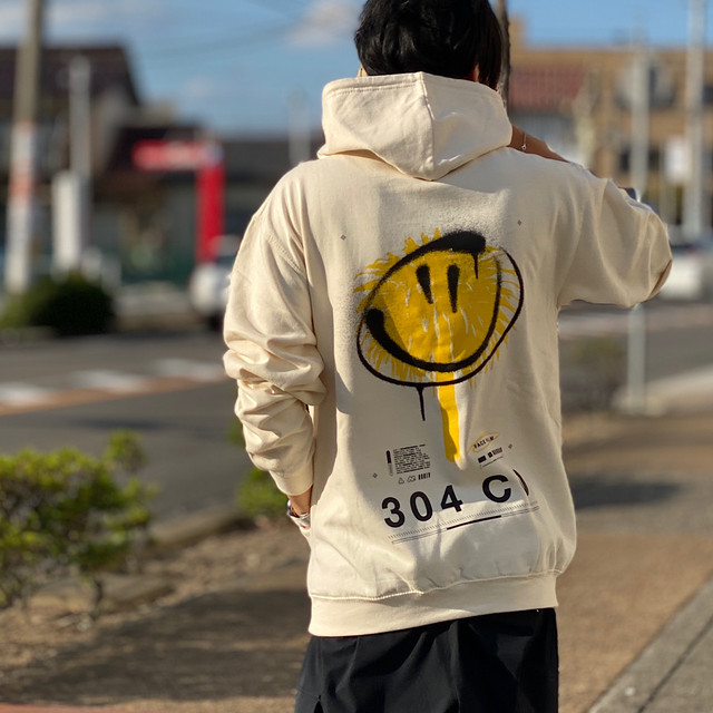 304Clothing/スリーオーフォークロージング Face Palm Hoodie 071-2121401