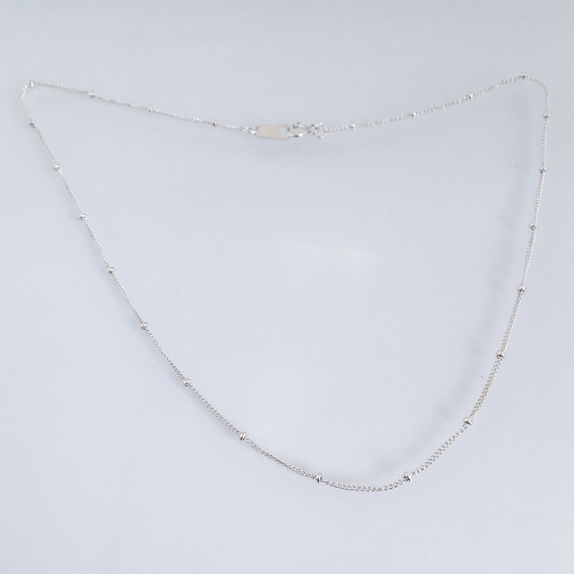 【受注生産】N-S2 silver925 necklace