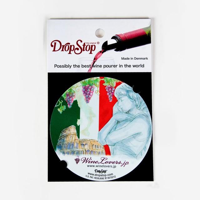 【アウトレット】ワインの液だれ防止 ドロップストップVol.1 / イタリア 1枚入り DropStop DSS003
