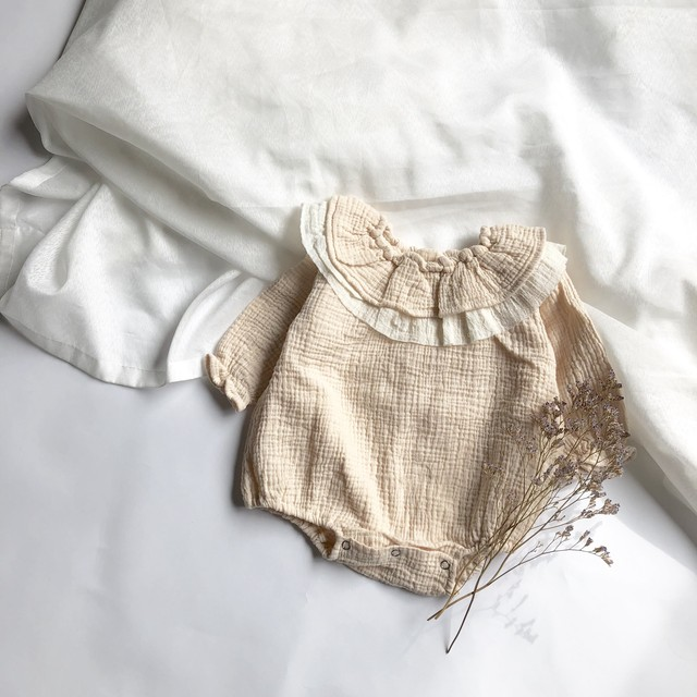 Sweet frill rompers