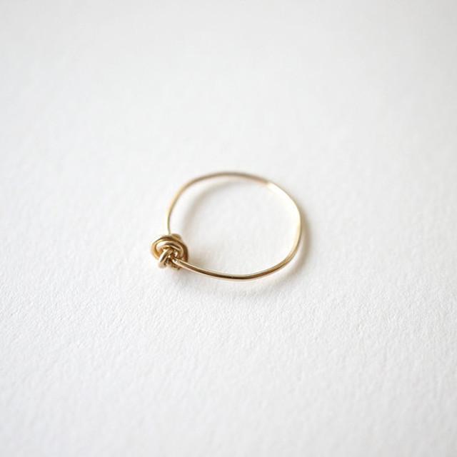 【MUUTS】Crumple ring